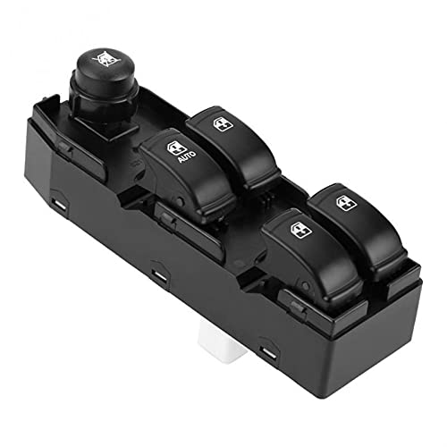 Aouoihnb Coche eléctrico Control Master Power Switch Durable y no fácil de Romper Adecuado para Chevrolet Optra LHD Daewoo Lacetti 2004-2007 Auto Accessorie (Color : Black)