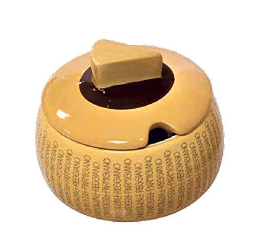 Gli autentici - Novedosa Mini Quesera clásica de cerámica
