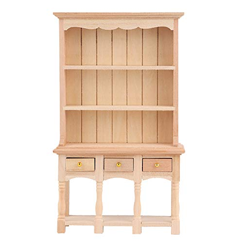 Boekkast, houten boekenkast, natuurlijke houtkleur Uitstekend vakmanschap Milieuvriendelijk en niet-giftig voor huisgeschenken Kinderkamer