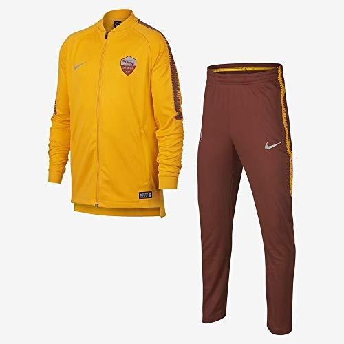 Nike Roma Y NK Dry SQD TRK Suit K trainingspak unisex kinderen (University Gold/Mars Stone/Mars Stone)