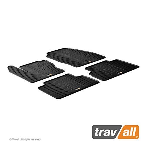Travall Mats Tapis de Voiture Compatible avec Ford C-Max (2010-2015) TRM1138 - Tapis de Sol en Caoutchouc sur Measure