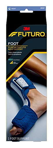 FUTURO-70011001073 Plantar Fasciitis Night Support, One Size-clear 1 Count (Pack of 1)