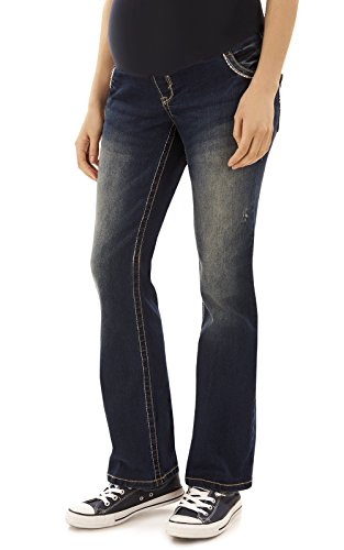 WallFlower Maternity Bootcut Jeans in Katy Size:JM