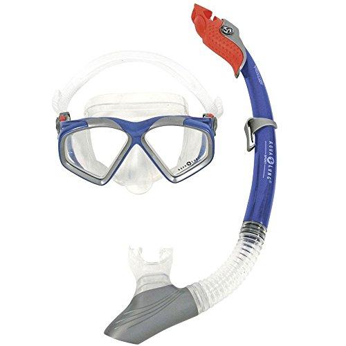 Aqua Lung Schnorchel-Set Cozumel LX / Paradise LX (Farbe: blau)
