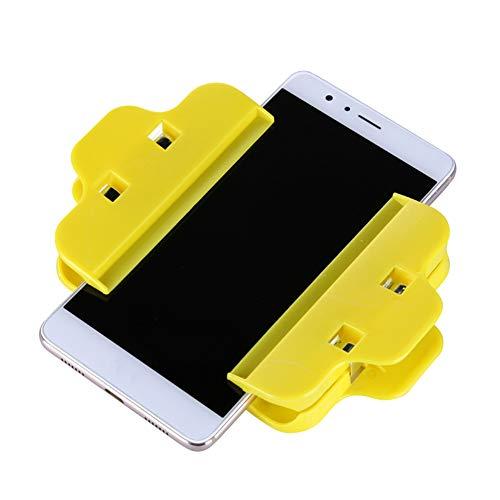 2 Kunststoff-Clips für LCD-Bildschirme, Befestigungsklammern für iPhone, Samsung, iPad, Tablet, Handy, Reparatur-Set
