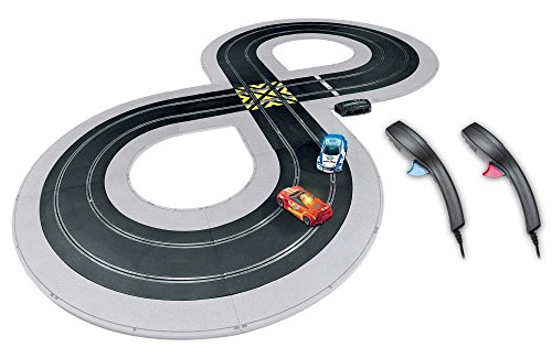 Scalextric C1323T Build, Race Quick Build Cops N Robbers 1:32 Slot Car Race Set (Scalextric Continental Sports Cars Best Price)