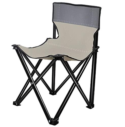 Silla Plegable QWEA para Exteriores con Chaise Resistente portátil, Camping, Senderismo, césped, Pesca, sillas, Taburete de Acero Plegable Ultraligero