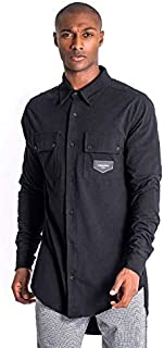 Gianni Kavanagh Black Spring Breakers Oversized Shirt Hombre