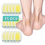 Blasenpflaster, Neue Material Gel-Schutz Blasenpflaster, Fortschrittliche, Heilende Blisterkissen für Finger, Zehen, Vorfuß und Ferse. 100% Wasserdicht, Steril (Packung mit 15 Stück)