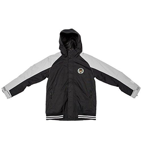 Nitro Kinder Snowboardjacke Boys Squaw JKT - Black/WARM Grey, Größe:M