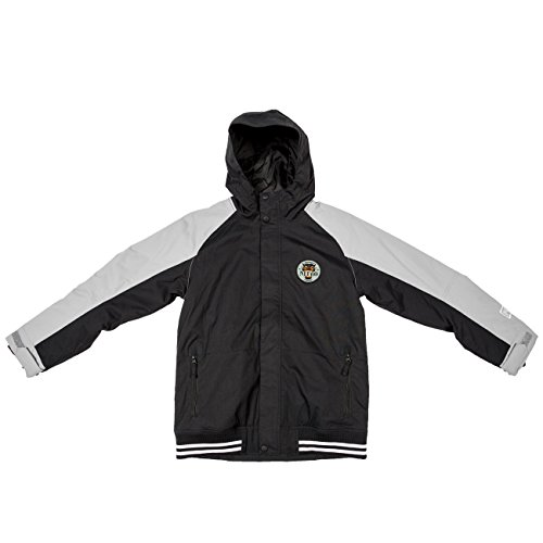Nitro Kinder Snowboardjacke Boys Squaw JKT - Black/WARM Grey, Größe:M