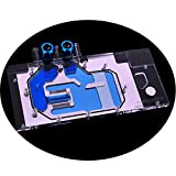 GPU Copper Water Cooling Block G1/4 Threads Full Cover Waterblock Water Block for Graphic Card Gigabyte GTX 1080 Ti Xtreme Edition Gigabyte GTX 1080Ti 11G 5V 3PIN RGB RBW LED Remote Control Fittings