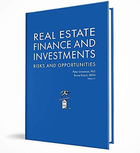 Real Estate Finance and Investments Risks and Opportunities