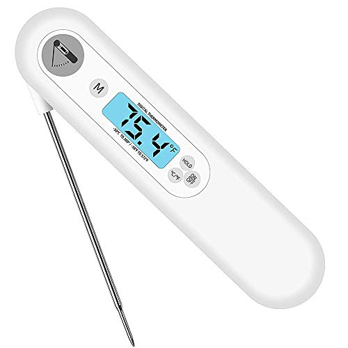 Rainling Instant Read Meat Thermometer with Backlight for Grill and Cooking. Best Ultra Fast Digital Kitchen Thermometer with Probe.