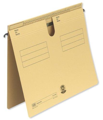 ELBA 100555352 - Cartelline sospese, modello 81, confezione da 50 pezzi, per rilegatura commerciale o ufficiale, giallo