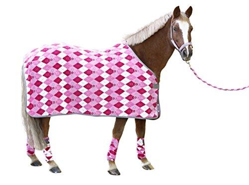 Covalliero 3210499 RugBe Fleecedecke Lilli Pony Karo-Design