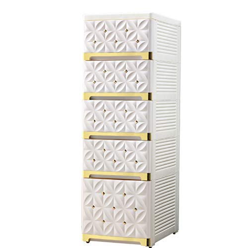 TXXM manufacture Cajonera de almacenamiento con costuras para armario, cajón de almacenamiento, gabinete de almacenamiento para baño, cocina (color: platino de arroz, tamaño: 30 x 40 x 94 cm)