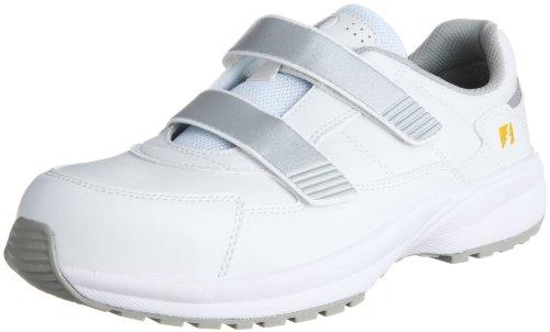 [ミドリ安全] 安全作業靴 JSAA認定 静電気帯電防止 マジックタイプ プロスニーカー SL615S メンズ ホワイト 27.0(27cm)