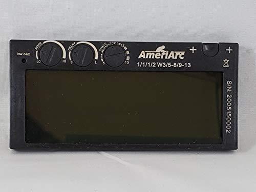2x4 Auto-Darkening Welding Lens Variable shade 5-13