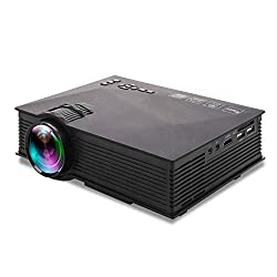 UNIC UC68 FullHD LED WiFi Projector 1800 lumi/Airplay/Miracast/HDMI/USB/SD/AV/VGA/DLAN/YouTube with Theater Effect Portable Projector,XElectron,UNIC UC68