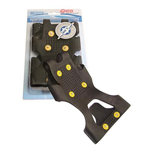 nico Spikes L = 41/44 für Schuhe, zum Überziehen für sicheren Schritt auf Eis und Schnee