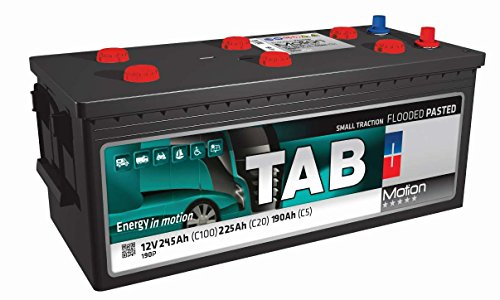 Batería Solar 250Ah / 12V TAB Motion Baterias para una descarga profunda utilizo para instalación...