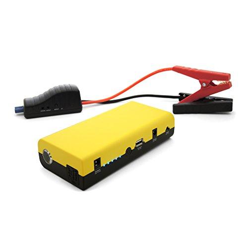 MAXTOOLS JSL260, Arrancador y Batería de Emergencia para Turismos, 500A 13.000mAh, para Motores de 12V de Gasolina y Gasóleo, Batería de Litio, Jump Starter, Booster, con Linterna LED y Puerto USB