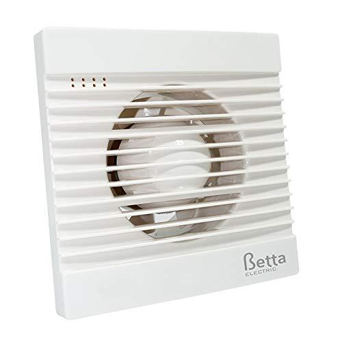 BETTA - Extractor baño extraplano y silencioso 33 dB de 13W | Betta BE1010