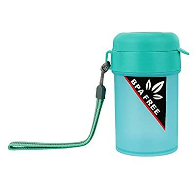 YJYDADA Portable Sports Water Bottle Plastic Water Cup Creative Kettle Drink Travel Cup
