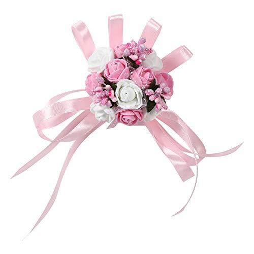 Cafopgrill 1 stuk bruiloft hand bloem, bruidsmeisje bruid pols corsage, bloemendecoratie, handwerk, voor avondevenementen, schoolbal