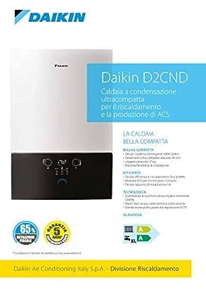 Foto di Daikin D2CND Caldaia a condensazione ultracompatta per il riscaldamento e la produzione di ACS
