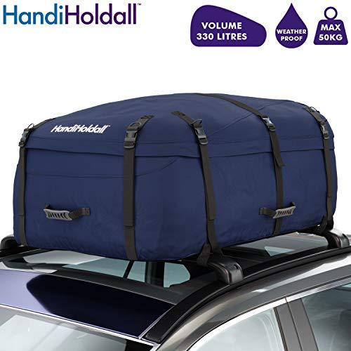 HandiHoldall Sac de Toit pour véhicule Bleu Marine 330 l