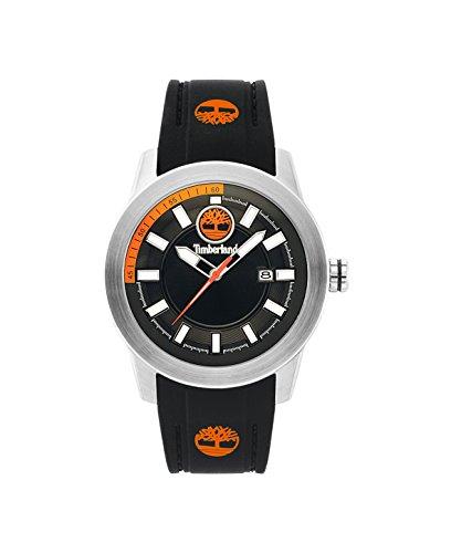 Timberland Reloj Análogo clásico para Hombre de Cuarzo con Correa en Silicona TBL.15355JS/02P