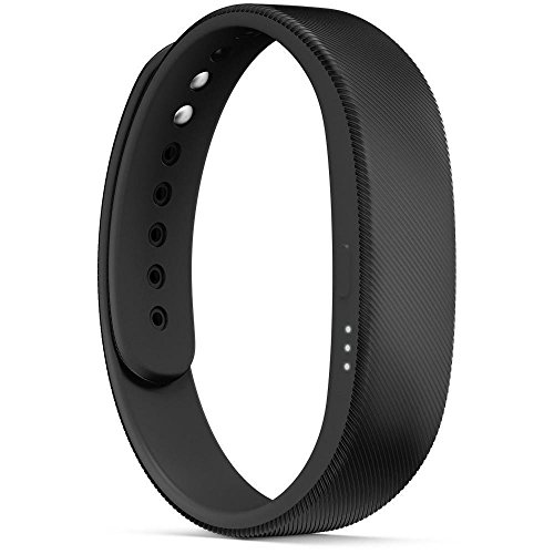 Sony Mobile SWR10 SmartBand Aktivitätstracker Schlaftracker Fitness Tracker – Schwarz - 2
