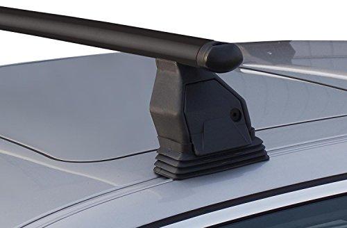 MENABO Dachträger Tema kompatibel mit Opel Meriva B (Steilheck 5 Türer) ab 2010