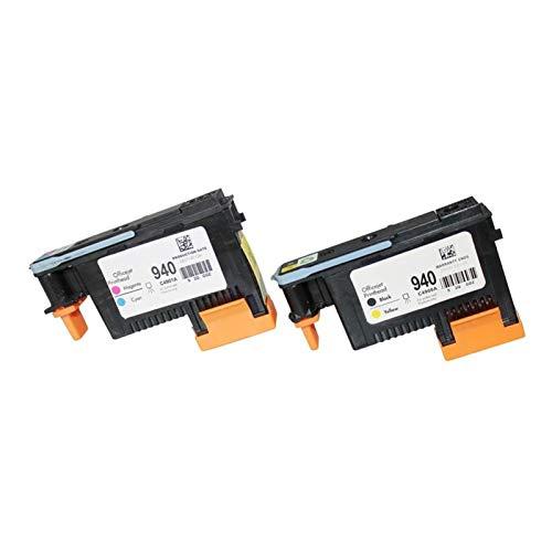 CXOAISMNMDS Reparar el Cabezal de impresión 2 PC Compatible Pinthead Fit para HP 940 C4900A Cabezal de impresión para HP940 Pro 8000 A809A 8500A A910A A910G A910N A809N A811A 8500 (Color : 1set)