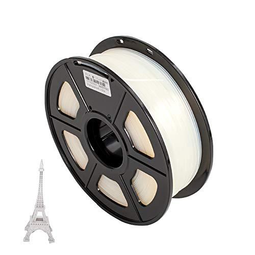 Filamento Di Stampa 3D Solubile In Acqua Di Alcol Polivinilico PVA 1,75 Mm Bobina Da 0,5 Kg Per Stampante 3D E Penna Per Stampa 3D
