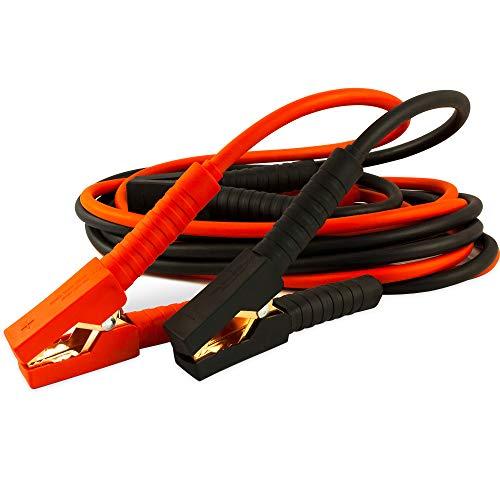 Deuba Câbles de démarrage - 3m - 220 amp - Batterie Auto Voiture Câble Pince isolée