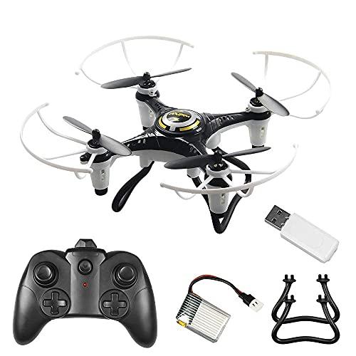 DCLINA Mini Drone Telecomando Elicottero Giocattolo per Principianti 2.4g One-Click Tumbling Aereo Giocattoli Volanti per Bambini Adulti Ragazzi Ragazze Compleanno