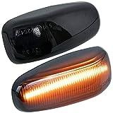 Intermitente Lateral LED para Vito Clase V W638 Sprinter W901 W905 LT 96-06 Luz de Señal Luces Intermitentes Canbus smd plafon ahumado