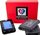 2 Size Cuffs. Standard 8'-16' & Extra Large Cuff 9'-21' Automatic Blood Pressure Monitor Blood Pressure Machine. BP Wizard BP Machine. Most Accurate BP Monitor. Largest Cuff Available.