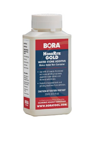 HoneRite Gold BORA STN-HRG250 250ml Honing Solution. The Grinding/Sharpening Additive That is Specifically Formulated to Make Water Non-Corrosive and help protect against Rust