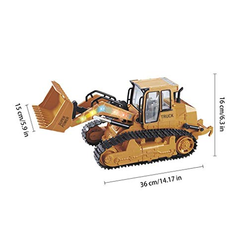 RC Auto kaufen Kettenfahrzeug Bild 3: TianranRT 1: 12 RC Bagger Schaufel Fernbedienung Kontrolle Bau Planierraupe LKW Spielzeug Licht*