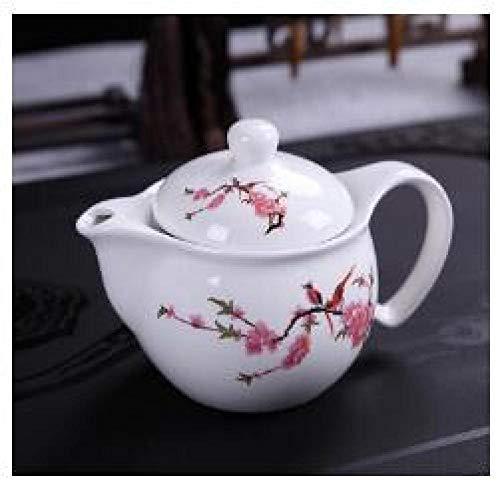 Wasser Kocher Tee Kanne Traditionen PorzellanTeekanne Reisebüro Tee-Set Doppelte Teekanne Gürtel Filter Kung Fu Teetasse Wasserkocher Porzellan Teegeschirr 300 Ml-01