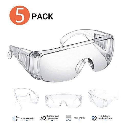Pack de 5 Gafas de seguridad
