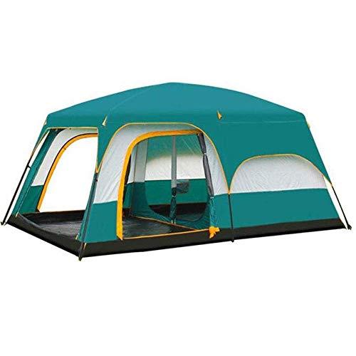Dhmm123 - Mosquitera de camping resistente al agua, portátil, portátil, impermeable, ideal para viajes, camping, 430 x 305 x 200 cm, fácil de instalar