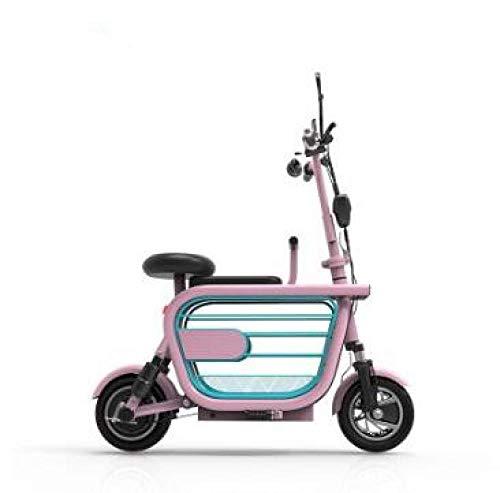 Hold E-Bikes Plegable Coche eléctrico Adulto Scooter eléctrico Señoras Bicicleta eléctrica Mini...