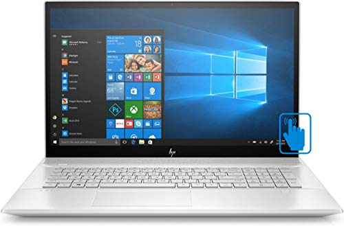 HP Envy - 17t Home and Business Laptop (Intel i7-10510U 4-Core, 32GB RAM, 512GB m.2 SATA SSD + 2TB HDD, NVIDIA GeForce MX250, 17.3' Touch Full HD (1920x1080), Fingerprint, Win 10 Pro) (Renewed)