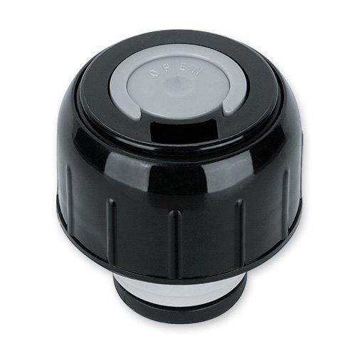 Isosteel Verschluss für Isolierbehälter, Schwarz-Grau