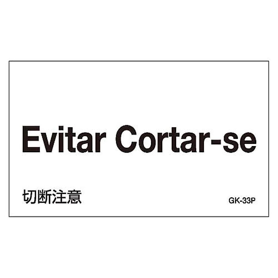 ワーディアンケース赤字ペグ外国語ステッカー GK-33P(ポルトガル語)/61-3413-77